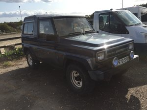 1989 Daihatsu Fourtrak  For Sale