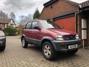 1998 Terios Reliable 4x4 for winter