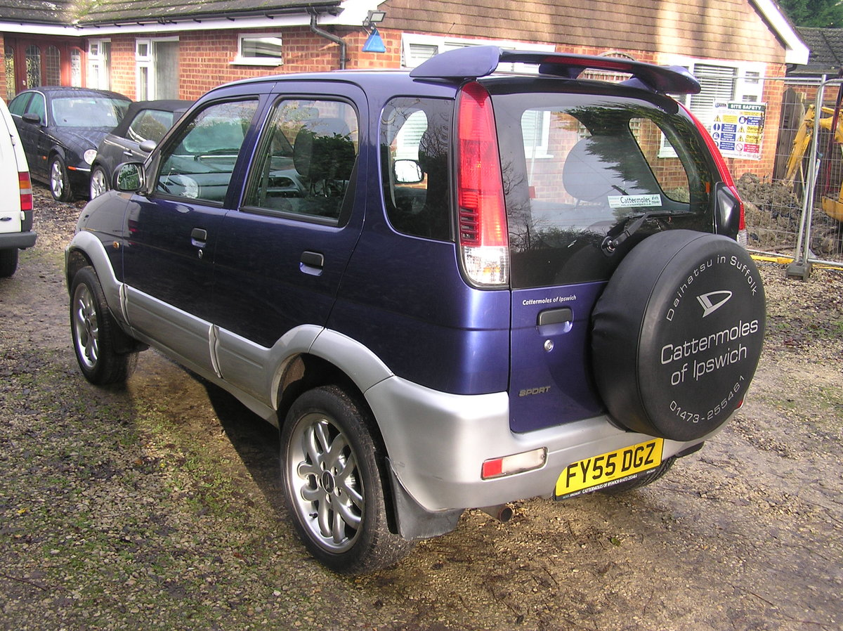 2005 Daihatsu Terios 1.3 Sport 5dr  For Sale (picture 2 of 6)