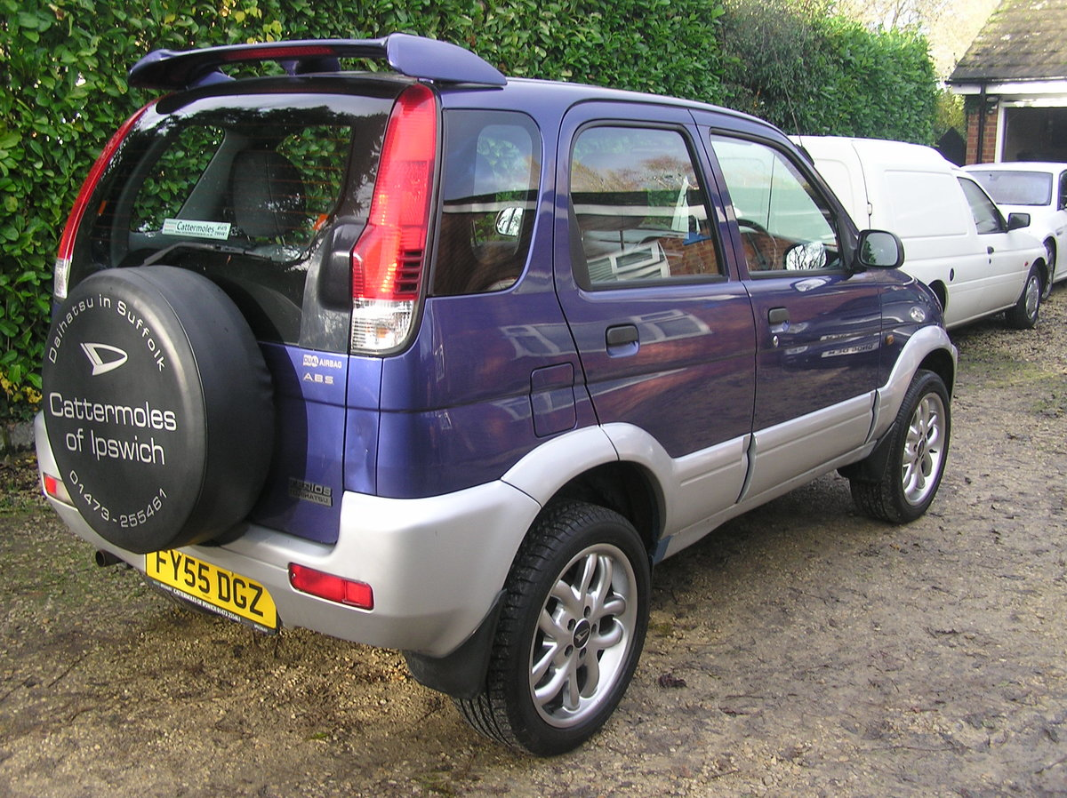 2005 Daihatsu Terios 1.3 Sport 5dr  For Sale (picture 3 of 6)