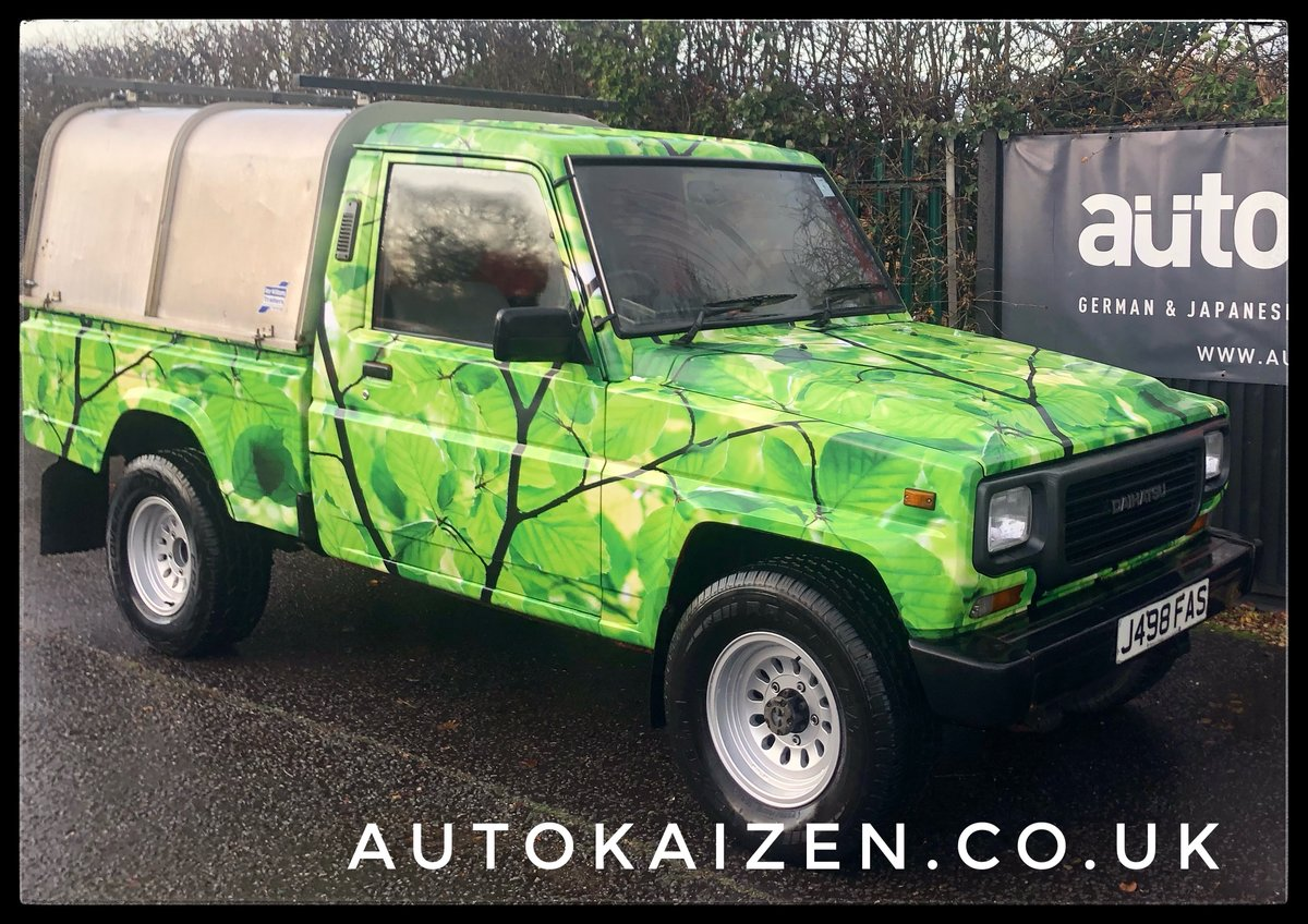 1991 Daihatsu Fourtrak pickup 2.8 Diesel Man Rare SOLD (picture 1 of 6)