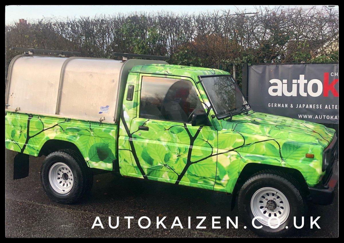 1991 Daihatsu Fourtrak pickup 2.8 Diesel Man Rare SOLD (picture 3 of 6)
