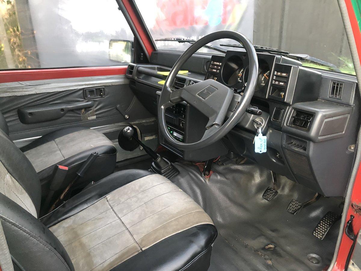 1991 Daihatsu Fourtrak pickup 2.8 Diesel Man Rare SOLD (picture 6 of 6)