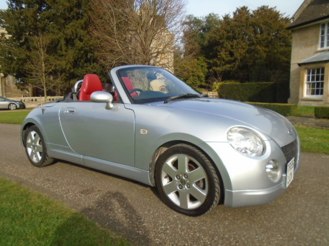 2008 Daihatsu Copen Convertible, 1298cc.  For Sale (picture 1 of 6)