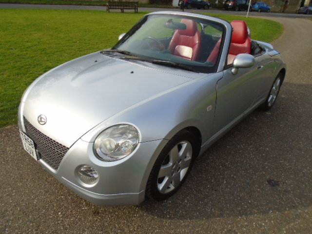 2008 Daihatsu Copen Convertible, 1298cc.  For Sale (picture 2 of 6)