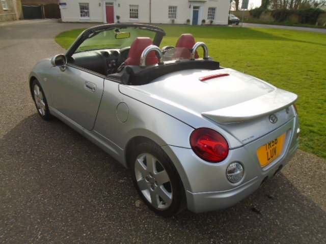 2008 Daihatsu Copen Convertible, 1298cc.  For Sale (picture 4 of 6)