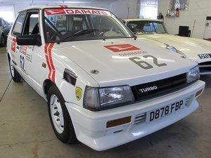 1985 Ex Works Daihatsu Charade Turbo Chamberlain Built