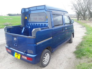 Daihatsu Hijet Deck van 4 door Kei car pickup