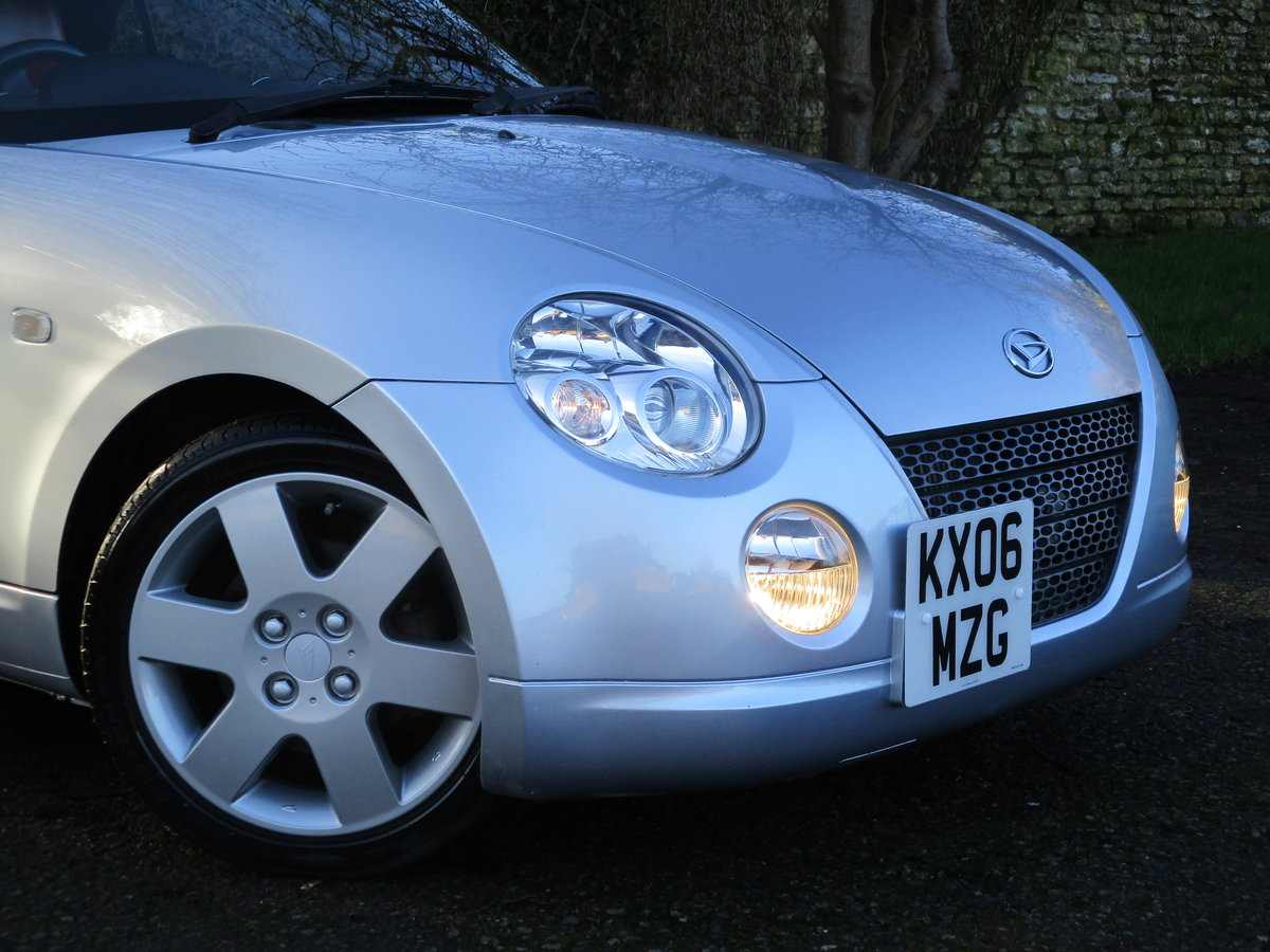 2006 Exceptional very low mileage Copen, 15640 miles For Sale (picture 4 of 12)