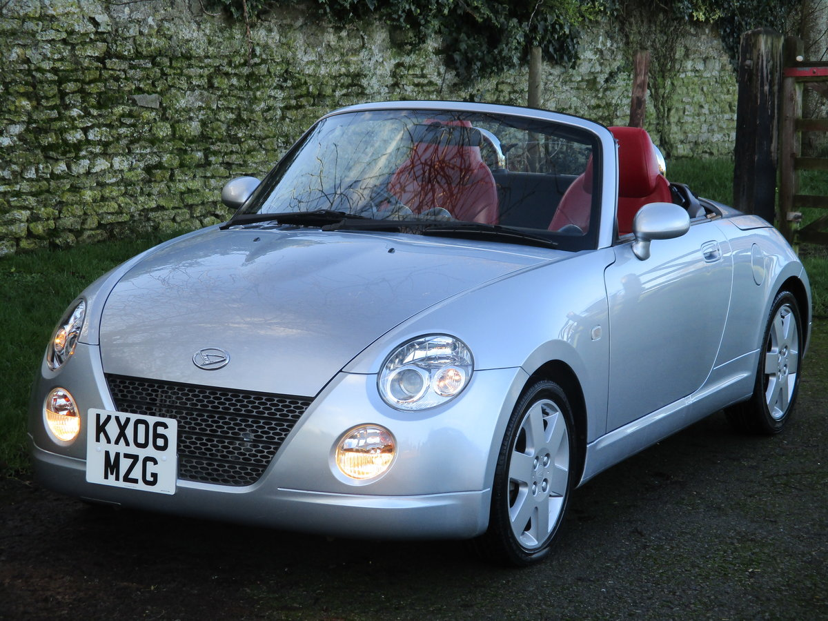 2006 Exceptional very low mileage Copen, 15640 miles For Sale (picture 5 of 12)
