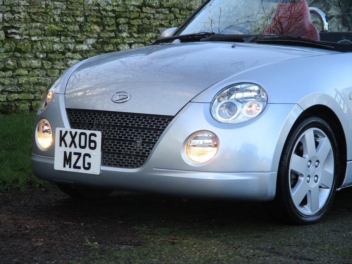2006 Exceptional very low mileage Copen, 15640 miles For Sale (picture 7 of 12)