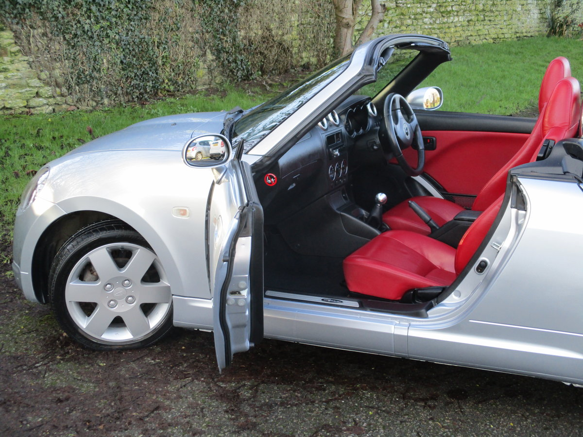 2006 Exceptional very low mileage Copen, 15640 miles For Sale (picture 8 of 12)