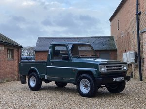 Picture of 1992 Daihatsu Fourtrak Pickup 2.8 Diesel. Very Rare SOLD