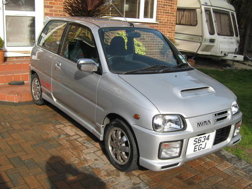 1998 Daihatsu Cuore Mira Avanzato Turbo Only 45k Uk For