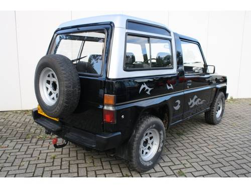 1986 Daihatsu Rocky 2.8 TD Intercooler Hardtop SE For Sale (picture 2 of 6)