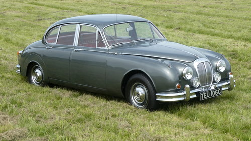 1965 Daimler 250 V8 Saloon 38,000miles only For Sale SOLD (picture 1 of 6)