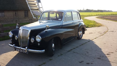 1953 Stunning Daimler Conquest (RHD) For Sale (picture 2 of 6)