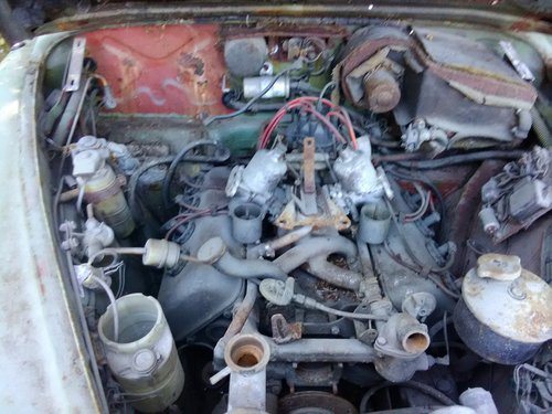 1968 Daimler Mk2 V8 250 Restoration project For Sale (picture 2 of 6)