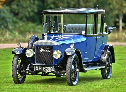 1923 Daimler D16 Landaulette. SOLD (picture 1 of 6)