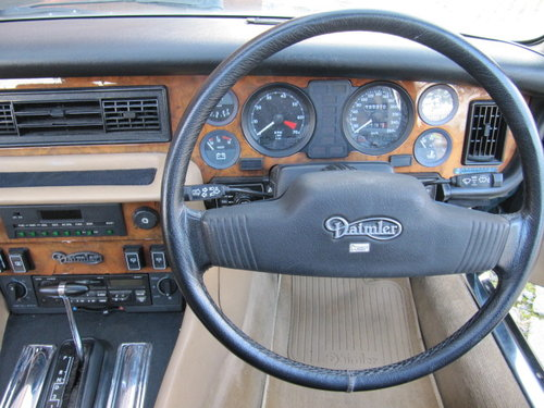 1991 DAIMLER DOUBLE SIX 5.3 SERIES 3 V12 * AUTOMATIC * LOW MILES For Sale (picture 5 of 6)
