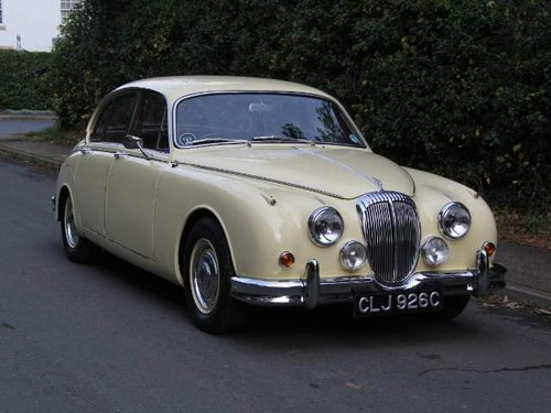 1965 Daimler 250 V8 - £14k recently spent, beautifully presented SOLD (picture 1 of 6)
