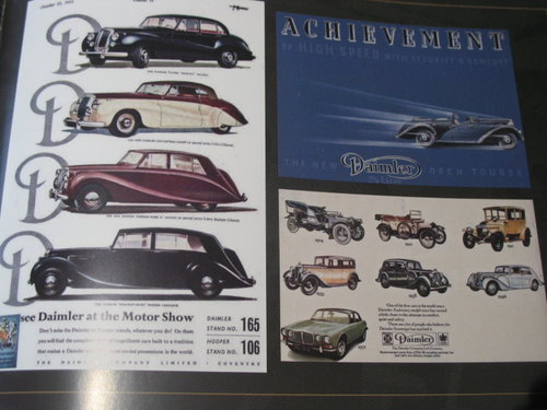Daimler & Lanchester 50 Years Special Eddition For Sale (picture 3 of 6)