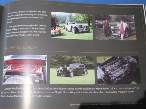 Daimler & Lanchester 50 Years Special Eddition For Sale (picture 5 of 6)