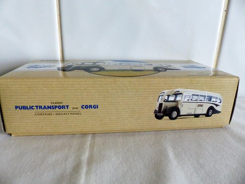 DAIMLER 1/2 SINGLE DECK BUS-SWAN MOTORS 1:50 For Sale (picture 5 of 6)