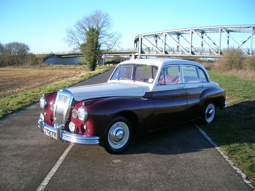 1956 Daimler One O Four 104 DF310 Historic Vehicle  For Sale (picture 1 of 6)