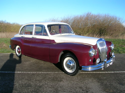 1956 Daimler One O Four 104 DF310 Historic Vehicle  For Sale (picture 2 of 6)