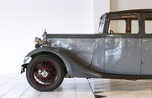 1934 Daimler 15 Saloon Mulliner Body For Sale (picture 3 of 10)