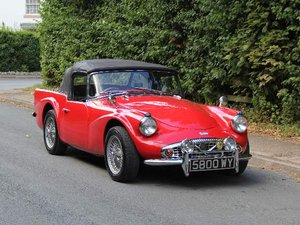 1961 Daimler Dart SP250 - 70k miles, history back to new