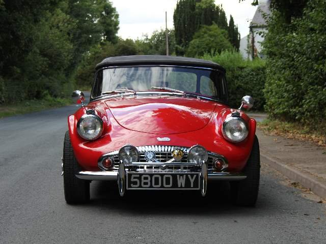 1961 Daimler Dart SP250 - 70k miles, history back to new For Sale (picture 2 of 6)