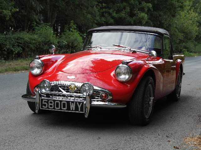 1961 Daimler Dart SP250 - 70k miles, history back to new For Sale (picture 3 of 6)
