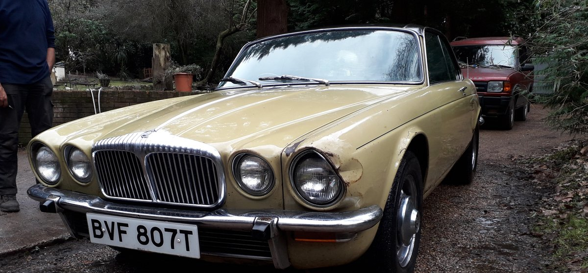 1978 Daimler Double Six Coupe SOLD (picture 1 of 6)