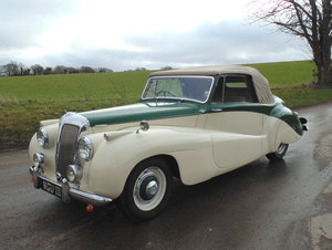 1951 Daimler DB18 Special Sports Coupe