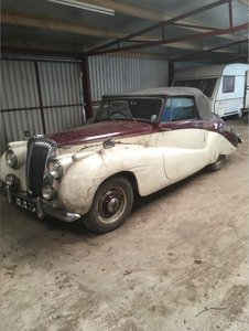 1953 Daimle Special Sports