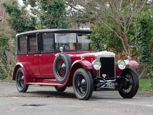 1925 Daimler Landaulette Limousine For Sale by Auction