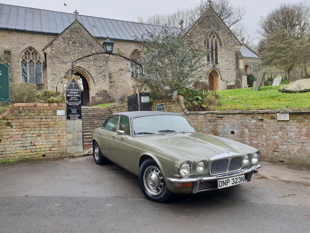 1972 Daimler Double Six V12 Family Owned  For Sale (picture 1 of 6)