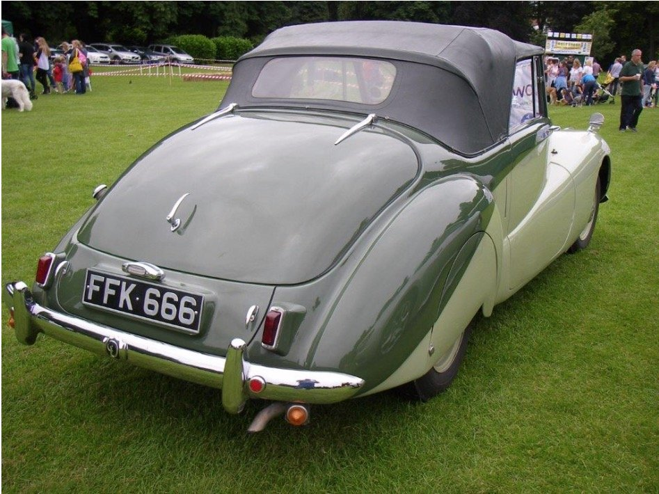 1952 Daimler DB18 Special Sports For Sale (picture 2 of 4)