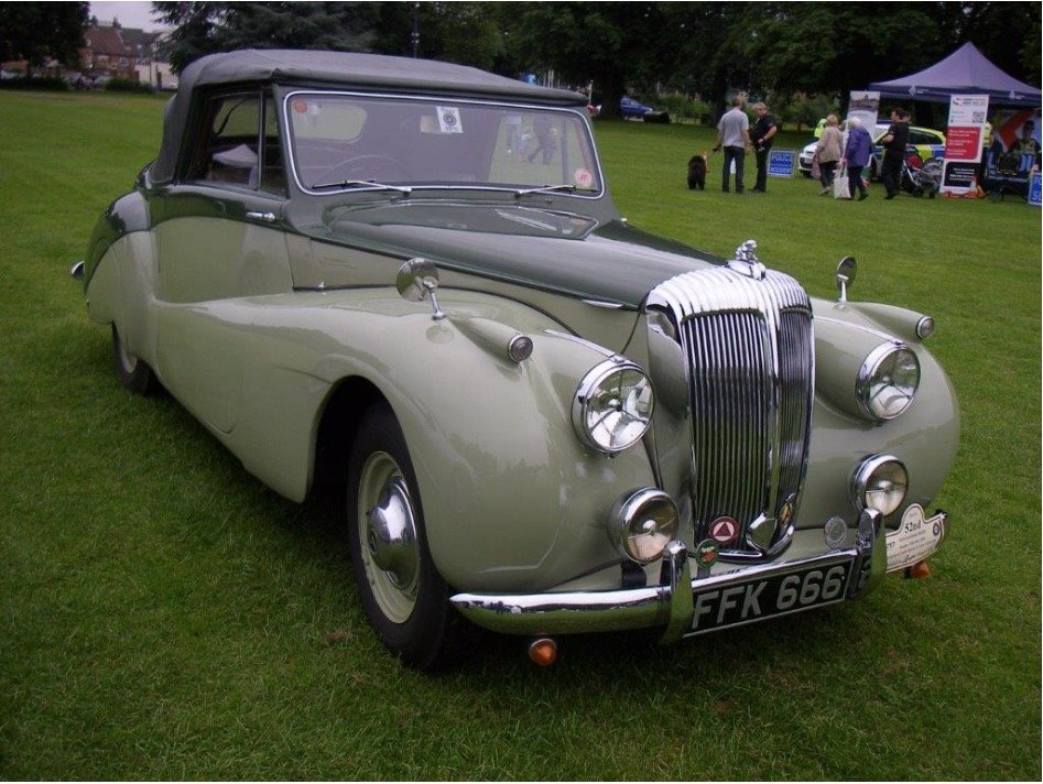 1952 Daimler DB18 Special Sports For Sale (picture 1 of 4)