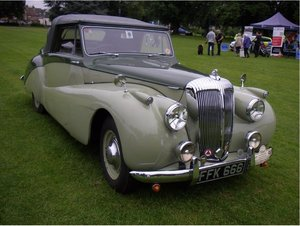 1952 Daimler DB18 Special Sports For Sale