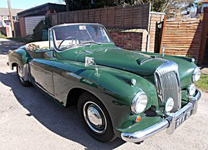 1957 Daimler New Drophead Coupe (Concours Winner) For Sale