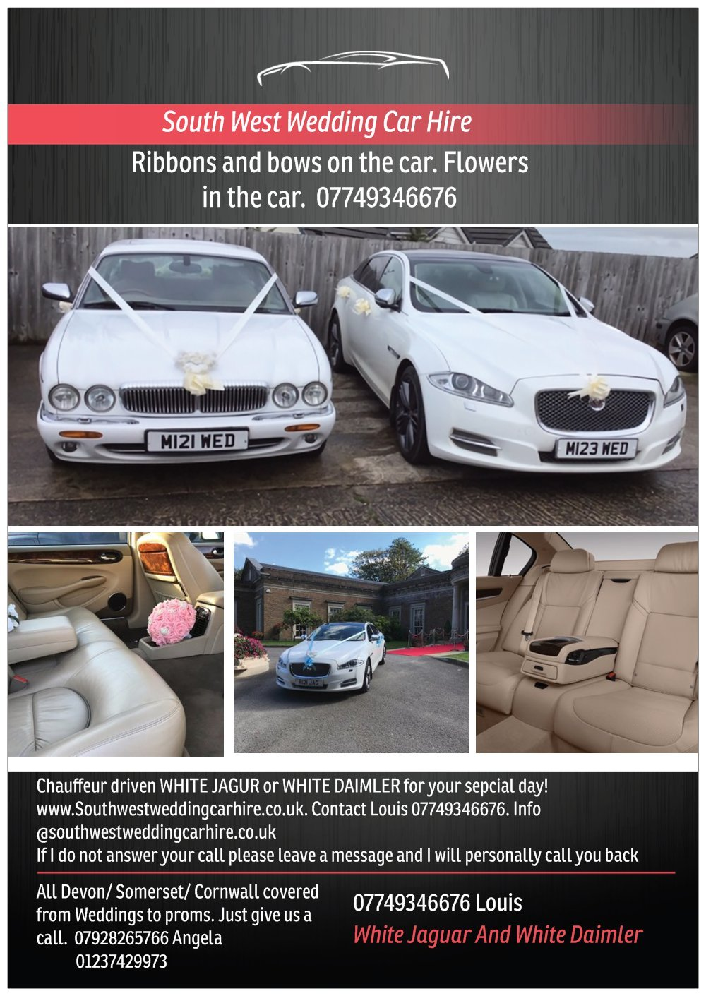 2000 Wedding Cars for hire For Hire (picture 5 of 6)