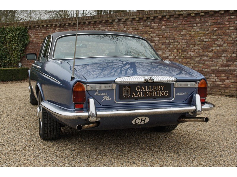 1978 Daimler Double Six Vanden Plas Swiss car, only 126.433 km For Sale (picture 6 of 6)