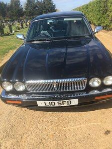 1998 Jaguar limousine