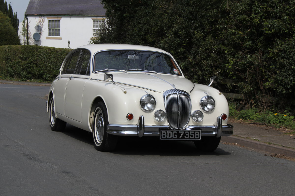 1964 Daimler 2.5 V8 Show Standard, History from new For Sale (picture 1 of 12)