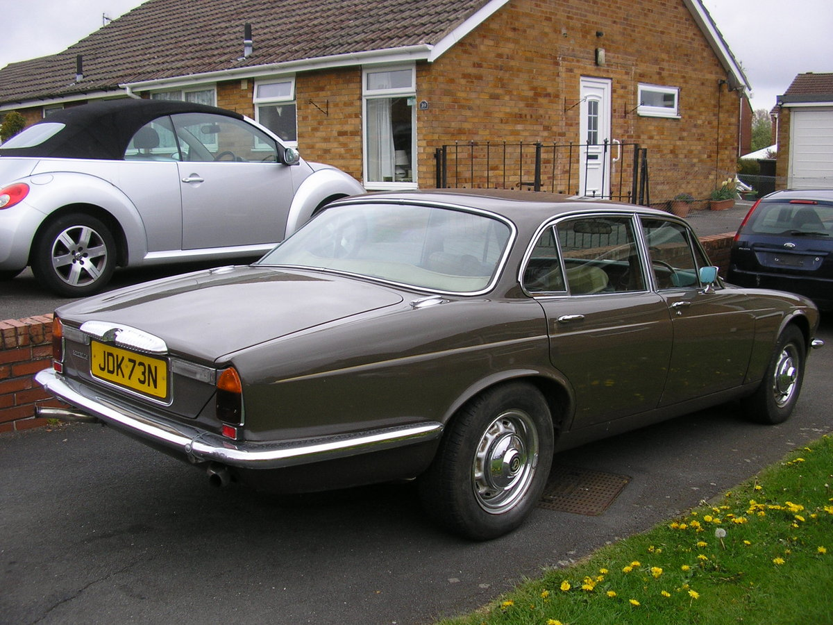 1975N Daimler Sovereign Mk II 4.2 Automatic SOLD (picture 2 of 6)