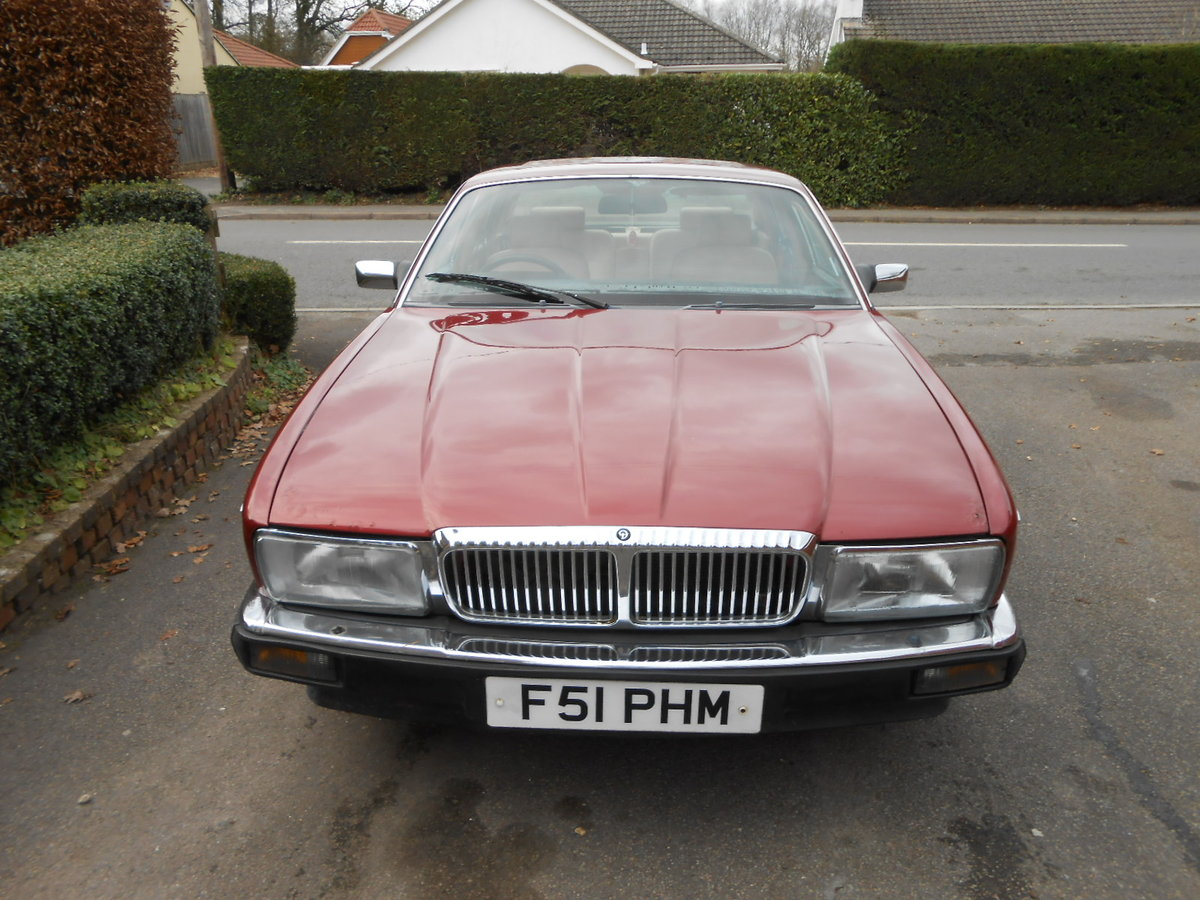 1988 Daimler jag xj40 3.6 auto 54,000 miles For Sale (picture 2 of 6)