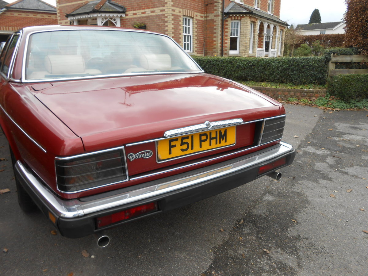 1988 Daimler jag xj40 3.6 auto 54,000 miles For Sale (picture 4 of 6)